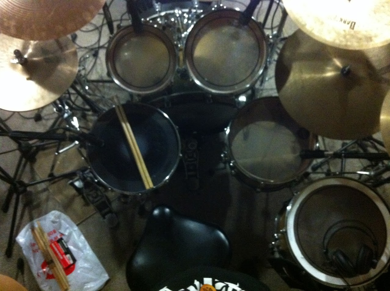 Drums for song 'Thrash - Way Of Life'
